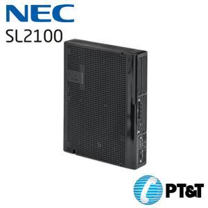 ตู้สาขา NEC SL2100 ขนาด 3 สายนอก 8 สายใน  Built-in VoIP (8ch)Built-in VM (4ch)VM SD Card (Optional)