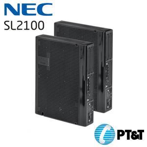 ตู้สาขา NEC SL2100 ขนาด 15 สายนอก 48 สายใน Built-in VoIP (8ch)Built-in VM (4ch)VM SD Card (Optional)