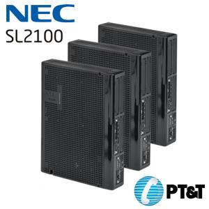 ตู้สาขา NEC SL2100 ขนาด 9 สายนอก 96 สายใน Built-in VoIP (8ch)Built-in VM (4ch)VM SD Card (Optional)