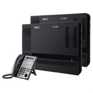ตู้สาขาโทรศัพท์ NEC SL1000 ขนาด 12 สายนอก 32 สายใน พร้อมเครื่องโทรศัพท์คีย์มีจอ 12 ปุ่มฟรี 1 เครื่อง